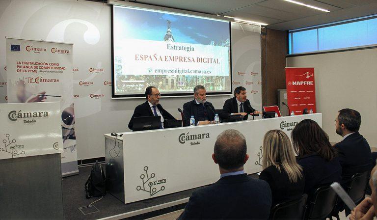 Cámara Toledo sensibiliza a las pymes sobre la necesidad de abordar la transformación digital