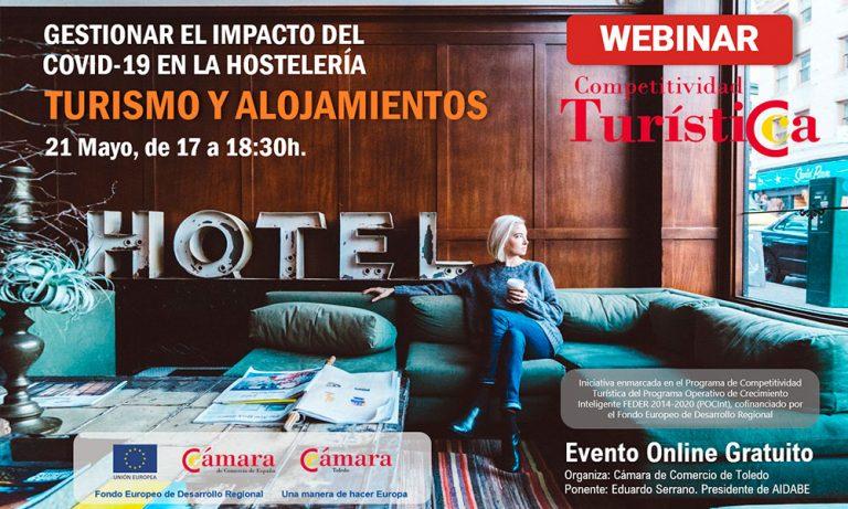 Jornada «Gestionar el impacto del Covid-19 en la hostelería. Turismo y alojamientos»