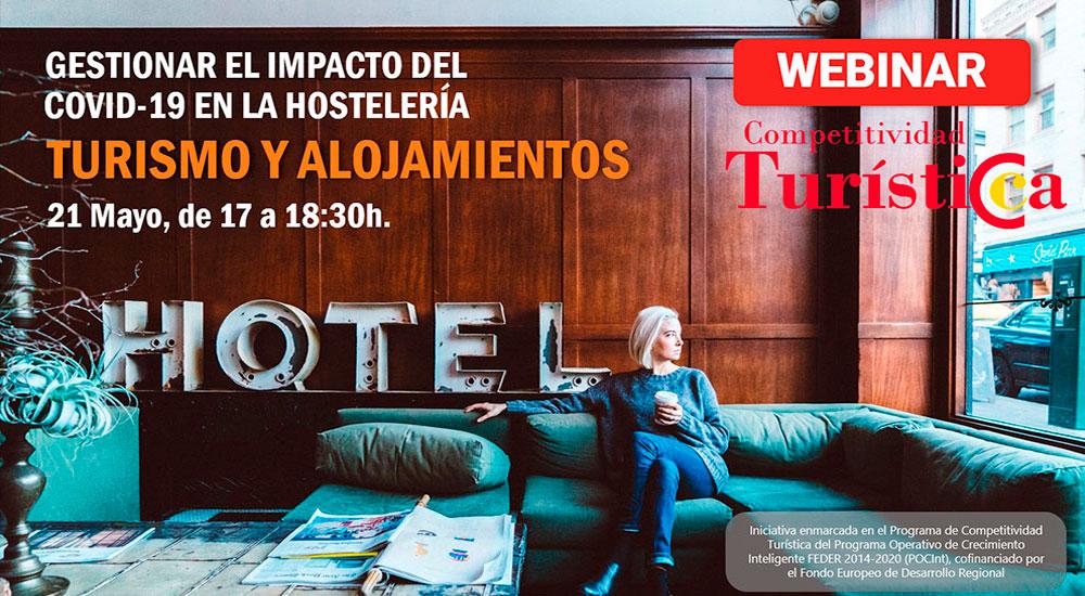 Cámara Toledo prepara jornadas webinar dirigidas al sector turístico para trazar un plan de acción adecuado a las circunstancias