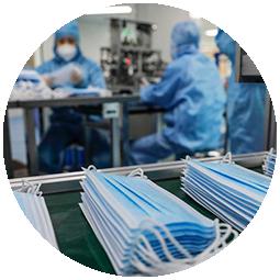 Especificaciones para la fabricación de mascarillas Covid-19