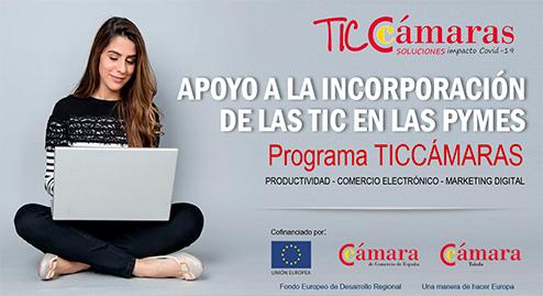 Programa TicCámaras de apoyo a la incorporación de las Tic en las Pymes