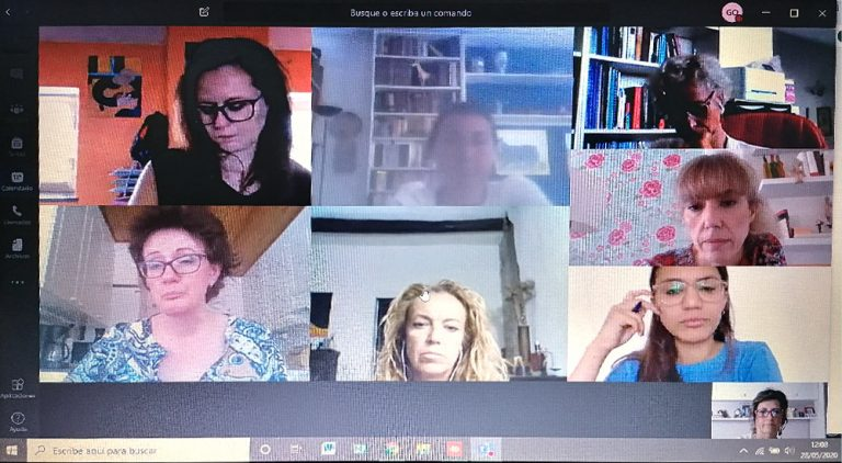 Reuniones virtuales de la RED ENN para organizar las actividades del Plan Internacional de Promoción