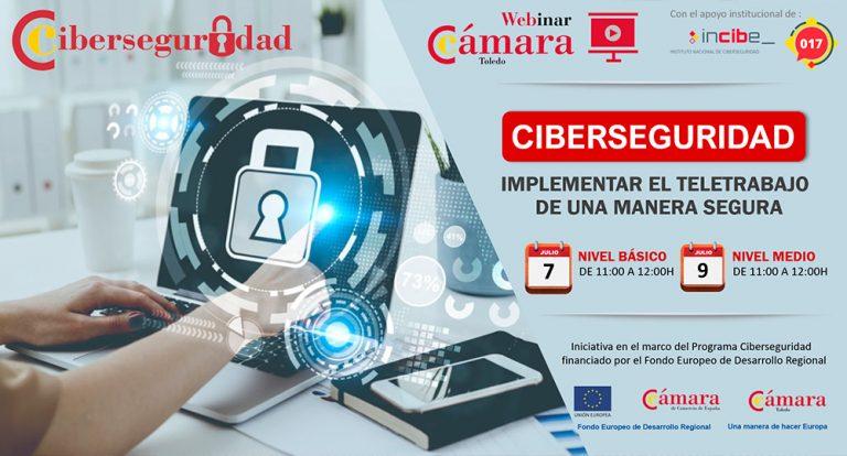 Webinar «Ciberseguridad: Implementar el teletrabajo de una manera segura» Nivel medio