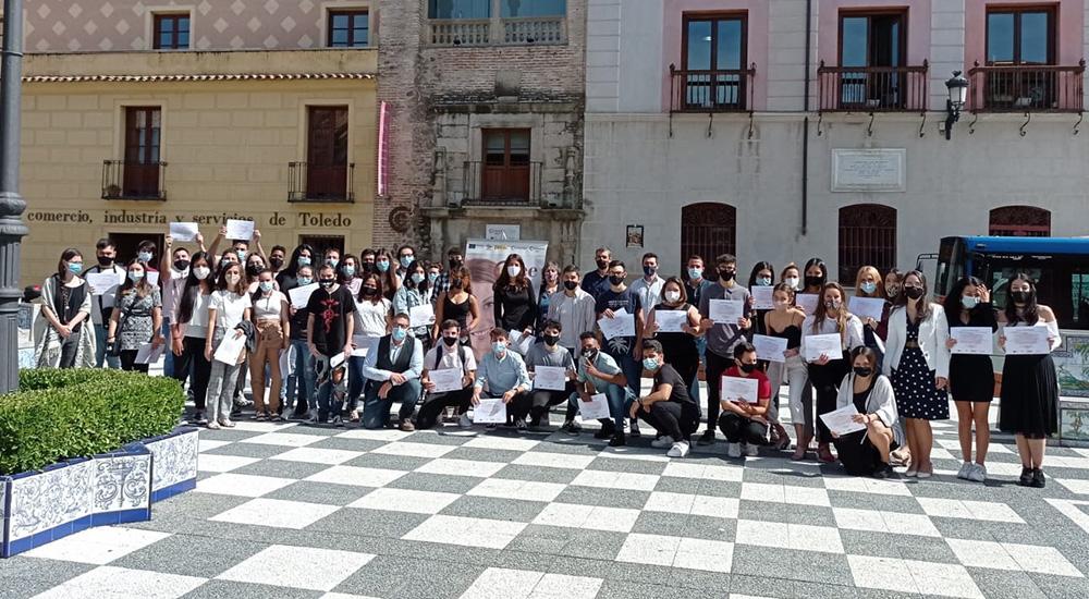 Clausura de tres nuevos cursos PICE para jóvenes en Talavera de la Reina de IMPRESIÓN 3D, TELEMARKETING Y TELECONCERTACIÓN