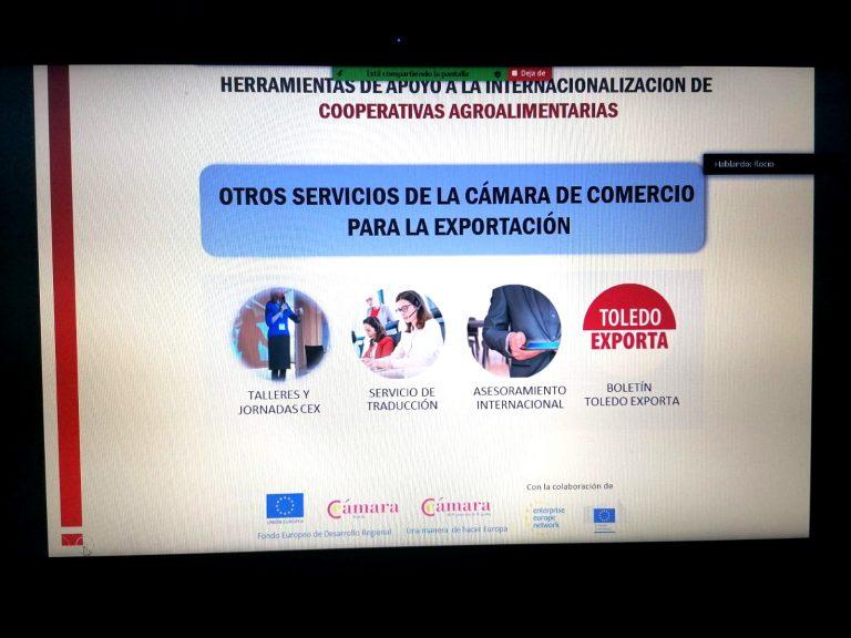 Cámara Toledo apoyando a las cooperativas agrarias de la provincia para su expansión internacional