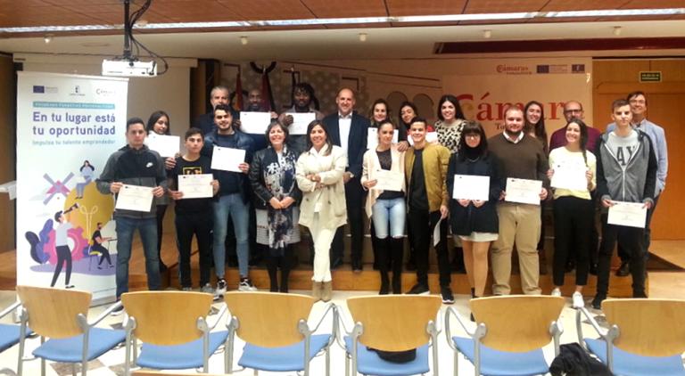 La Cámara impulsa el talento emprendedor de jóvenes de la comarca de Talavera de la Reina