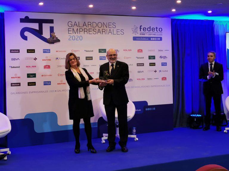 La Cámara entrega el galardón empresarial al Banco de Alimentos de Toledo