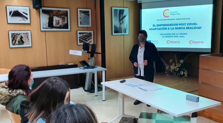 """Finaliza el taller """"EMPRENDEDOR POST COVID: ADAPTACION A LA NUEVA REALIDAD"""" enmarcado en el Programa España-Emprende"""
