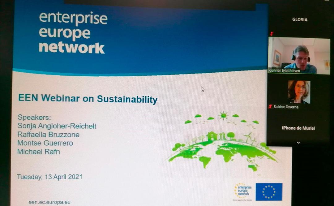 La Cámara de Comercio de Toledo participa en una sesión formativa sobre sostenibilidad organizada por la Red Enterprise Europe Network.
