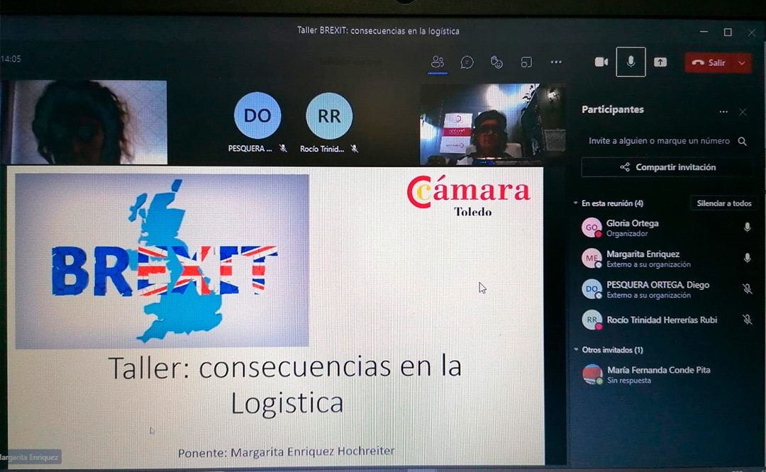 Una veintena de empresas han participado en el taller Brexit: Consecuencias en la logística organizado por la Cámara de Toledo