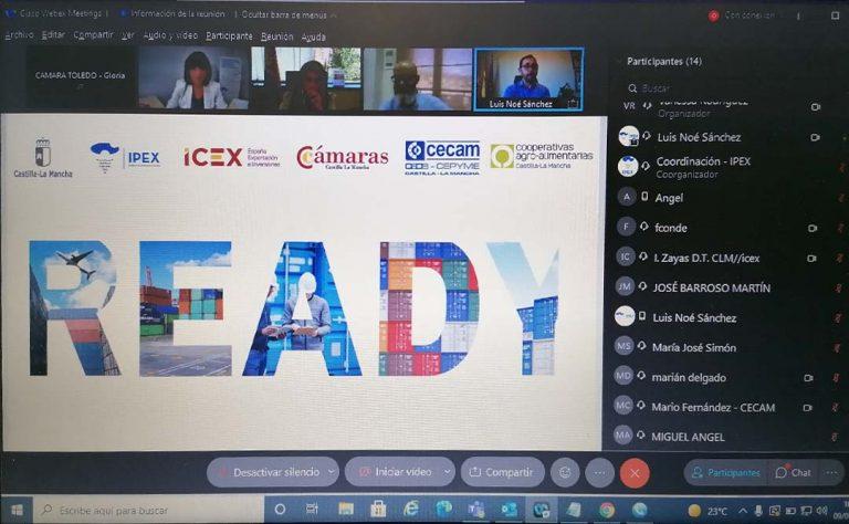 """La Cámara de Toledo presenta los programas del Área Internacional en el programa """"Ready"""" de Ipex"""