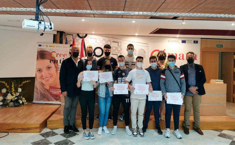"""Clausura del curso PICE de """"Vigilante de seguridad"""" en Talavera de la Reina"""
